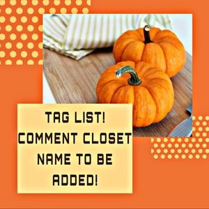 UPDATED TAG LIST! PLEASE COMMENT CLOSET NAME!